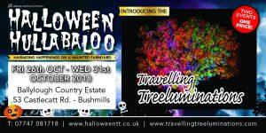 Ballylough Halloween Hullabaloo banner